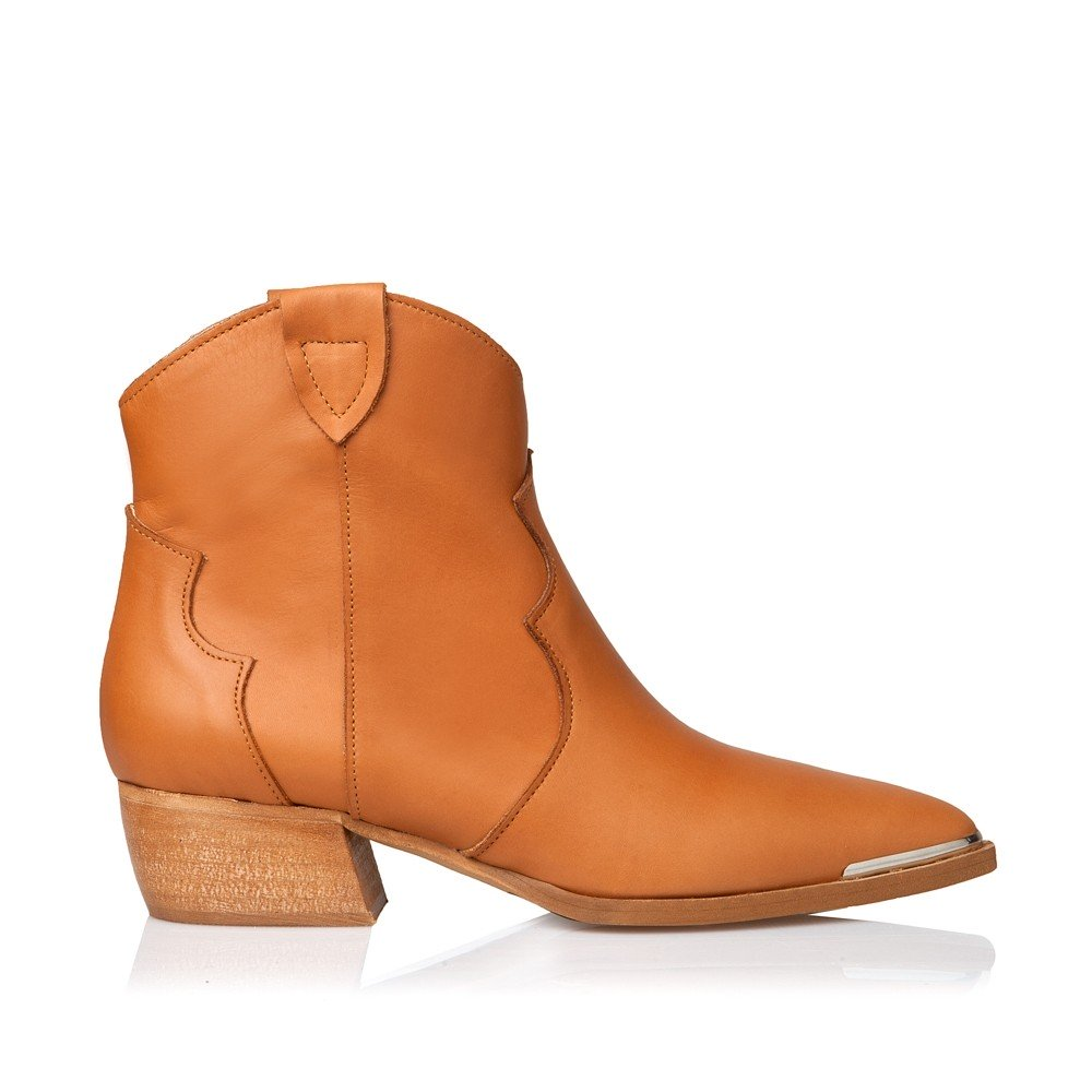 SANTE LEATHER BOOTIES TABBA (GRUMMAN-20-101-18)