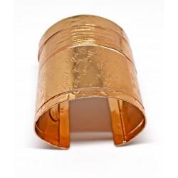 Gold plated brass handmade bracelet diotima (E163-1)