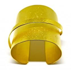 Gold plated brass handmade bracelet diotima (E413-2)