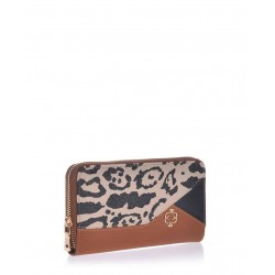 Tabba wallet veta with leopard  and black detail (1027-43)